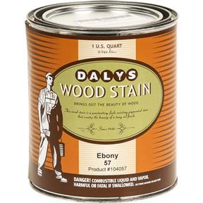Daly's Wood Stain, Ebony - Quart