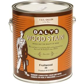 Daly's Wood Stain, Fruitwood - Gallon