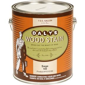 Daly's Wood Stain, Sage - Gallon