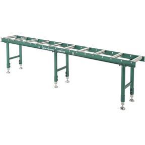 """14"""" x 118"""" Heavy-Duty Roller Table"""
