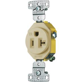 20 Amp 125V Single Receptacle