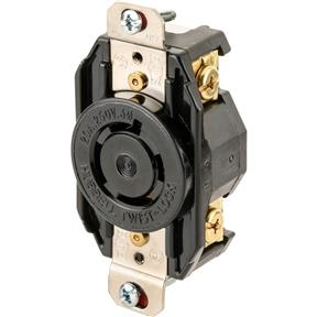 20 Amp 250V NEMA L15-20 3-Phase Twist Lock Receptacle