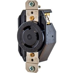30 Amp 125V NEMA L5-30 Twist Lock Receptacle