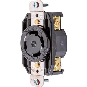 30 Amp 480V NEMA L16-30 3-Phase Twist Lock Receptacle