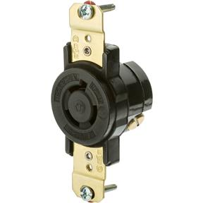 15 Amp 250V NEMA L6-15 Single-Phase Twist Lock Receptacle