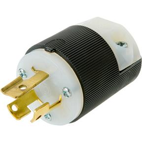 15 Amp 250V NEMA L6-15 Single-Phase Twist Lock Plug