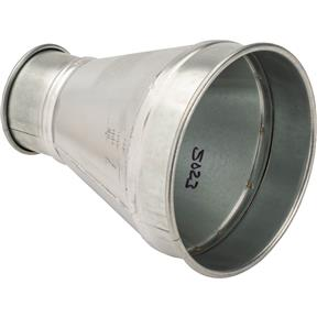 "8"" x 4"" Industrial Dust Collection Reducer"