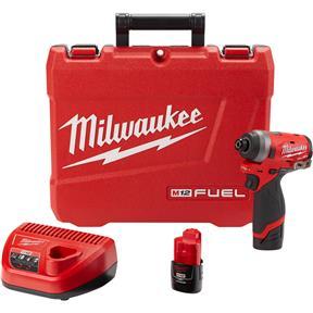 "M12 Fuel 1/4"" Hex Impact Driver Kit"
