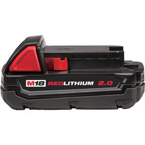M18 Red Lithium 2.0 Ah Battery
