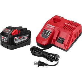 M18 Red 9.0Ah Li-Ion High Demand Starter Kit