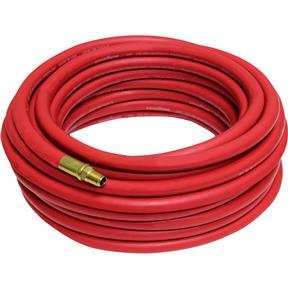 "50' x 3/8"" Red Goodyear Rubber Air Hose"
