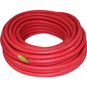 "100' x 3/8"" Red Goodyear Rubber Air Hose"