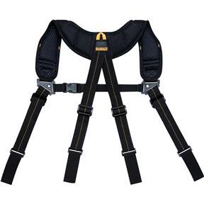 Black Heavy-Duty Yoke-Style Suspenders