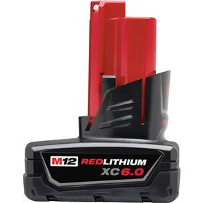 M12 6.0Ah Red Lithium XC Battery