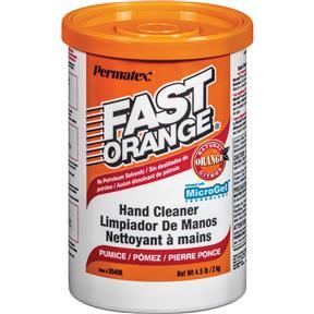Fast Orange Pumice Cream Hand Cleaner - 4.5lb Tub