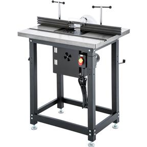 Router Table with Lift