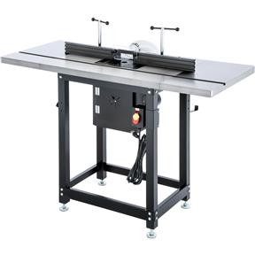 Router Table with Lift and Cast-Iron Wings