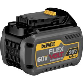 20V/60V 6.0Ah Flexvolt Max Battery Pack
