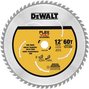 "12"" x 1"" 60t Flexvolt Miter Saw Blade"