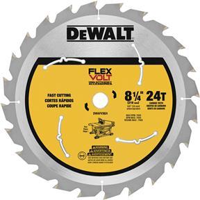 """8-1/4"""" x 5/8"""" 24t Flexvolt Table Saw Blade"""