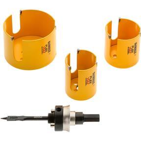 Flexvolt Carbide Wood Drilling Hole Saw Kit, 7 pc.