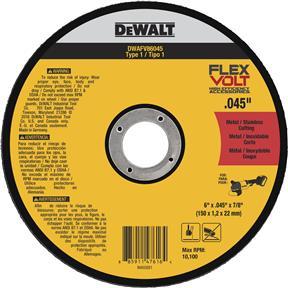"""6"""" x .045"""" x 7/8"""" Flexvolt Cutting Wheel"""