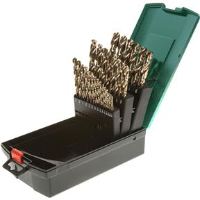 HSS 135 Deg. 29 Pc. Cobalt Finished Drill Bit Set