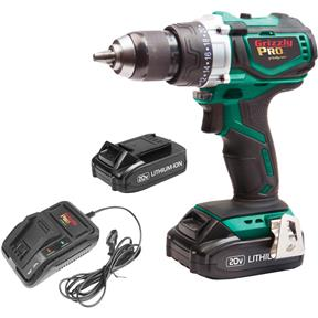 20V Drill/Driver Kit with 2 Li-Ion Batteries & Charger