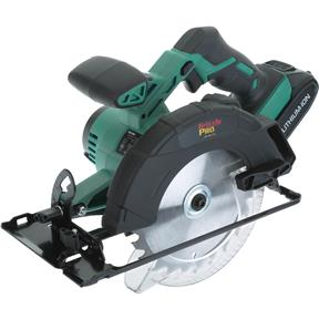 """20V 6-1/2"""" Circular Saw Kit with Li-Ion Battery (Charger Not Included)"""