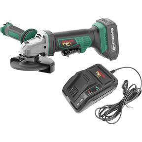 20V Angle Grinder Kit with 2 Li-Ion Batteries & Charger