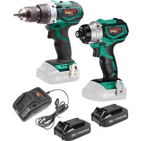 20V 2-Tool Drill Kit