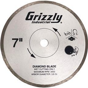 """7"""" Tile Saw Blade"""