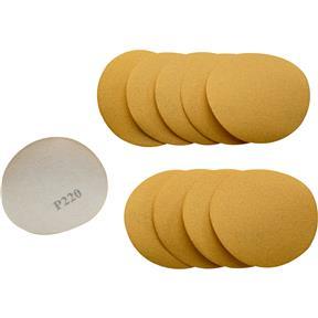 """3"""" A/O Sanding Discs, 220 Grit H&L, 10 pk."""