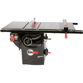 "10"" 3 HP 230V Professional Table Saw with 30"" Premium Fence Assembly"