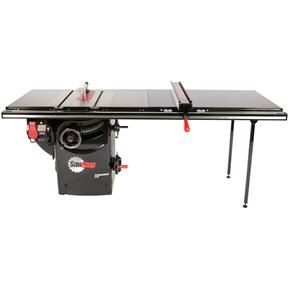 "10"" 3 HP 230V Professional Table Saw with 52"" T-Glide Fence Assembly"