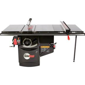 """10"""" 3 HP 230V Industrial Table Saw With 36"""" T-Glide"""