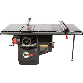 "10"" 5 HP 230V Industrial Table Saw With 36"" T-Glide"