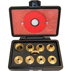 Brass Precision Template Guide Set, 9 Pc.