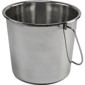 2-Gallon Stainless Steel Bucket