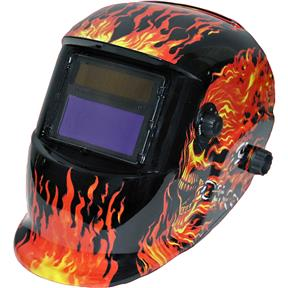 Skull Auto-Darkening Welding Helmet