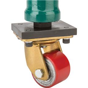 """30"""" Support Leg with Swivel Caster"""