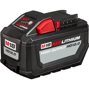 M18 12.0Ah Red Li-Ion High Output Battery