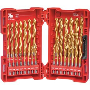 SHOCKWAVE Titanium Drill Bit Set - 29pc
