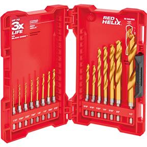 SHOCKWAVE Titanium Drill Bit Set - 15pc