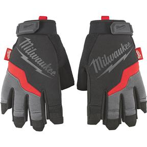 Fingerless Work Gloves - S