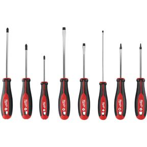 8pc Screwdriver Set With Square