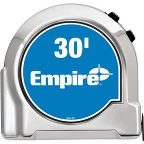 30' Empire Chrome Tape Measure