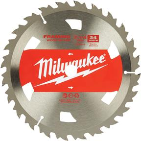 "7-1/4"" 24T Framing Circular Saw Blade 12 ATB"