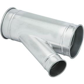 """7"""" x 7"""" x 4"""" Industrial Dust Collection Standard Branch"""