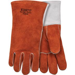 Premium Cowhide Welding Gloves - Large
